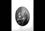 Félix Regnault et Georges Ancely groupe assis