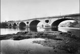 Pont neuf, vue des arches
