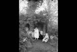 Félix Regnault et Georges Ancely en arabes à la Fontaine