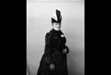Marie Louise Ancely (en buste) en chapeau haut