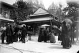 Champ de Mars, Histoire de l'Habitation, maisons chinoises et japonaises