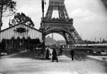 La tour Eiffel, le Champ de Mars