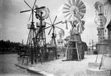 Moulins à vent, Champ de Mars, bords de Seine