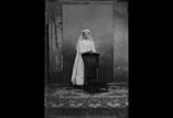 Marthe Ancely 1ere communion en pied