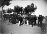 Arrivée au Camp du Ger près Tarbes