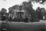 Fontaine dans jardin public
