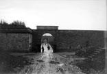 Entrée du fort des Barres