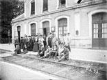 Groupe à la Gare