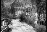 Sur le pont du Torrent