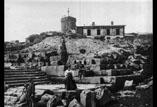 Observatoire près du Puy de Dôme & Temple de Mercure. Mme Timbal, Georges Ancely, Mme Arabet, Marcel Timbal et Marthe Ancely en ht
