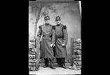 Soldat René Ancely et soldat Edouard Privat en pied