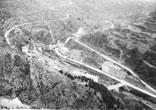 Panorama village de Lastours vallée de l'Orbiel