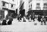 Une noce dans la rue