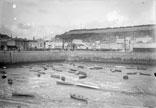 Port de St Hélier à marée basse