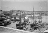 Vue du port de St Hélier