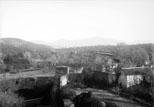 Vue des Sierras prise de l'Alhambra