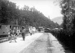 Gare et vallée vers Grenoble