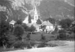 Vue de l'église et du village