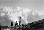 La chaine du Mont Blanc, vue de Plan Praz