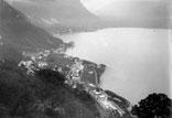 Vue du lac prise du Glyon