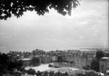 Vue générale de Lauzanne et du lac de Genève