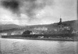 Vue générale d'Evian. Bords du lac de Genève