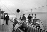 Groupe en bateau