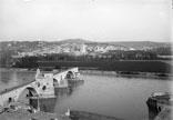 Le Pont d'Avignon et le Rhône