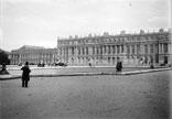 Le Palais, façade intérieure donnant sur le parc