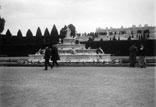 Le Parc et le Palais. Un bassin