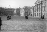 Le Palais. Façade extérieure