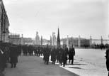 La Parade au Palais Royal. Le Drapeau Espagnol