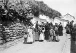 Groupe de gitanes à l'Albaycin