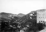 Vue du Généralife et l'Alhambra
