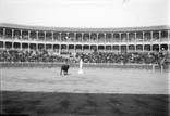 Plaza de toros. Une émule de Don Tancredo sur son piedestal