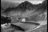 L'Hotellerie du Pic du Midi et le lac d'Oncet
