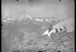 Le sommet du Piméné vue du Vignemale