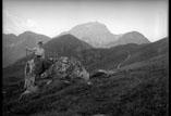 Vue du Pic du Midi près des cabanes de Hout Blanco