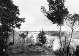Vue du Château de la rive droite de la Garonne