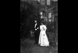 Mariage d'Emilie Favre. Groupe des mariés