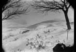 Vue de Bagnères et de la chaîne prise du camps de Cèsar