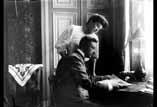 René et Louise Ancely au salon St Michel