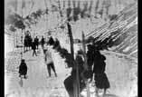 Exercice de ski au camp Basque