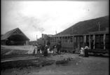 Sommet du Puy de Dôme. Gare du Funiculaire