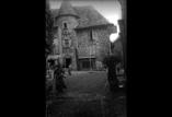 Vieille maison dans le village