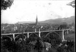 Pont du Kornhaus et la ville de Berne vu du Schänzli