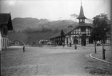 La gare et la vallée