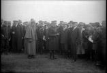 Le Président Poincaré, Etienne ministre de la guerre et officiers généraux
