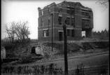 Faubourg Ste Catherine. Maison bombardée appartenant à un allemand (mars)