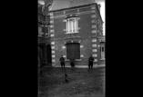 Maison Leblanc Marcel, sergent Goupel, soldat Lhomme, adjudant Dreyer (mars)